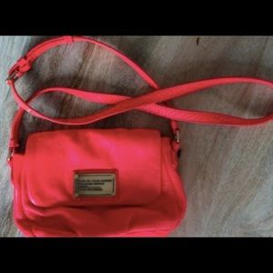 Marc by Marc Jacobs Pink Leather Crossbody Bag